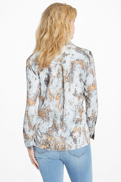 Nic +Zoe Globe Trotter Blouse - Alternate List Image