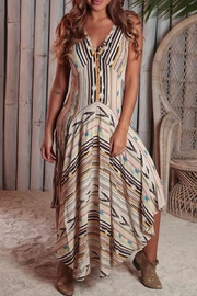 Z&L Globetrotter Maxi  Dress - Front cropped