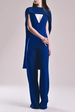 Shoptiques Product: Removable Cape Jumpsuit