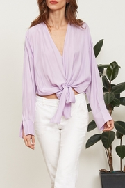 Lucy Paris  Gloria Wrap Blouse - Product Mini Image