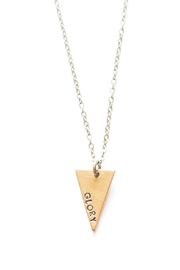 The Vintage Sparrow Glory Triangle Necklace - Product Mini Image