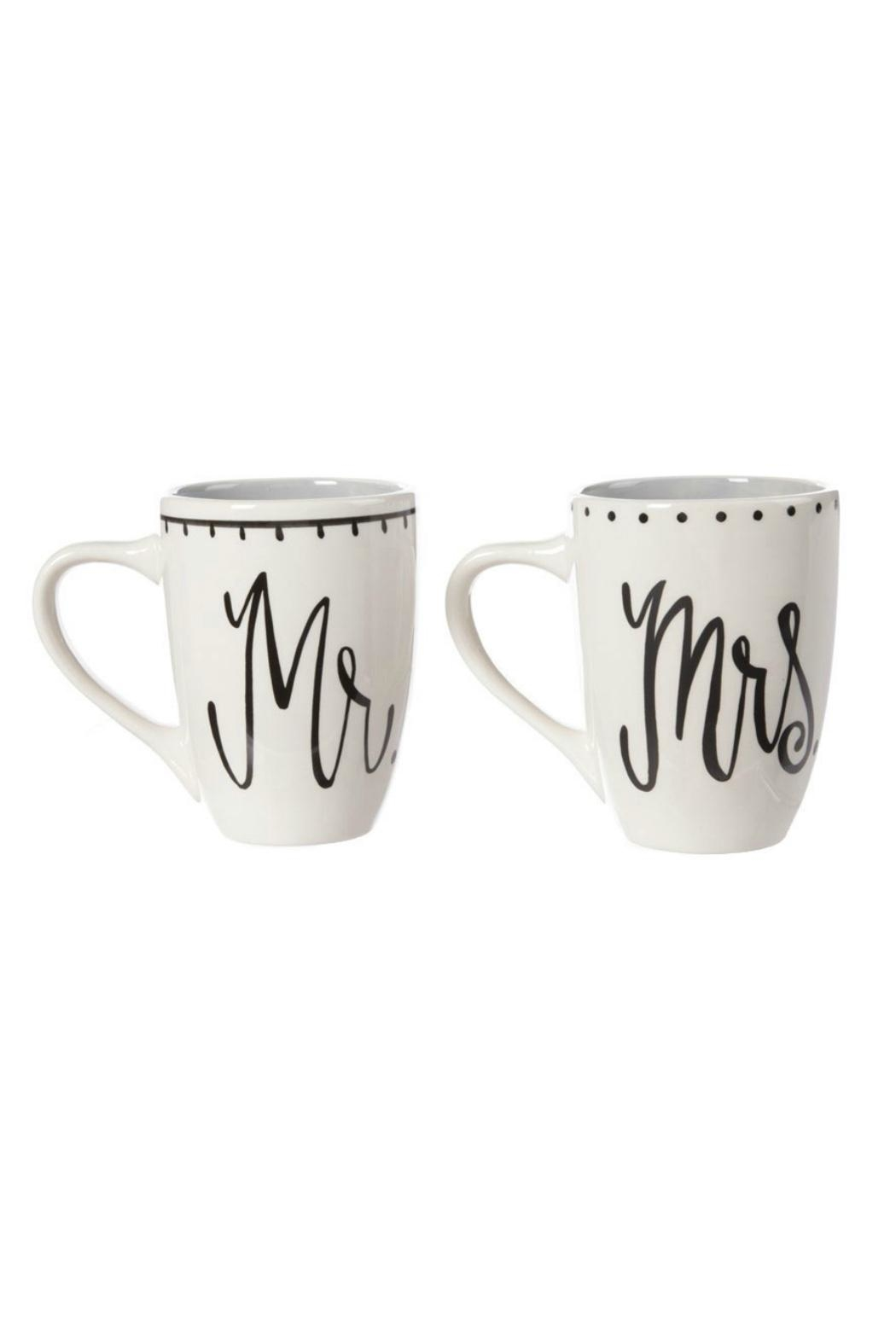 Glory Haus Mr.&Mrs. Coffee Mugs - Front Cropped Image