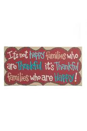 Glory Haus Thankful Families Canvas - Product Mini Image
