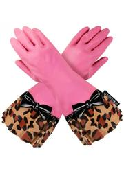 Gloveables Pink-Leopard Print - Product Mini Image
