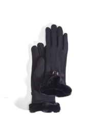 Two's Company Gloves with Faux Fur Cuff - Product Mini Image