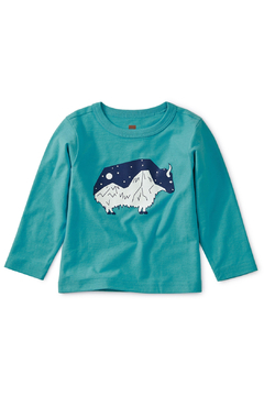 Tea Collection Glow in the Dark Baby Yak Tee - Product List Image