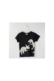 Bit'z Kids Glow In The Dark Dino Tee - Front cropped