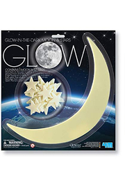 Toysmith Glow-In-The-Dark Moon & Stars - Product Mini Image
