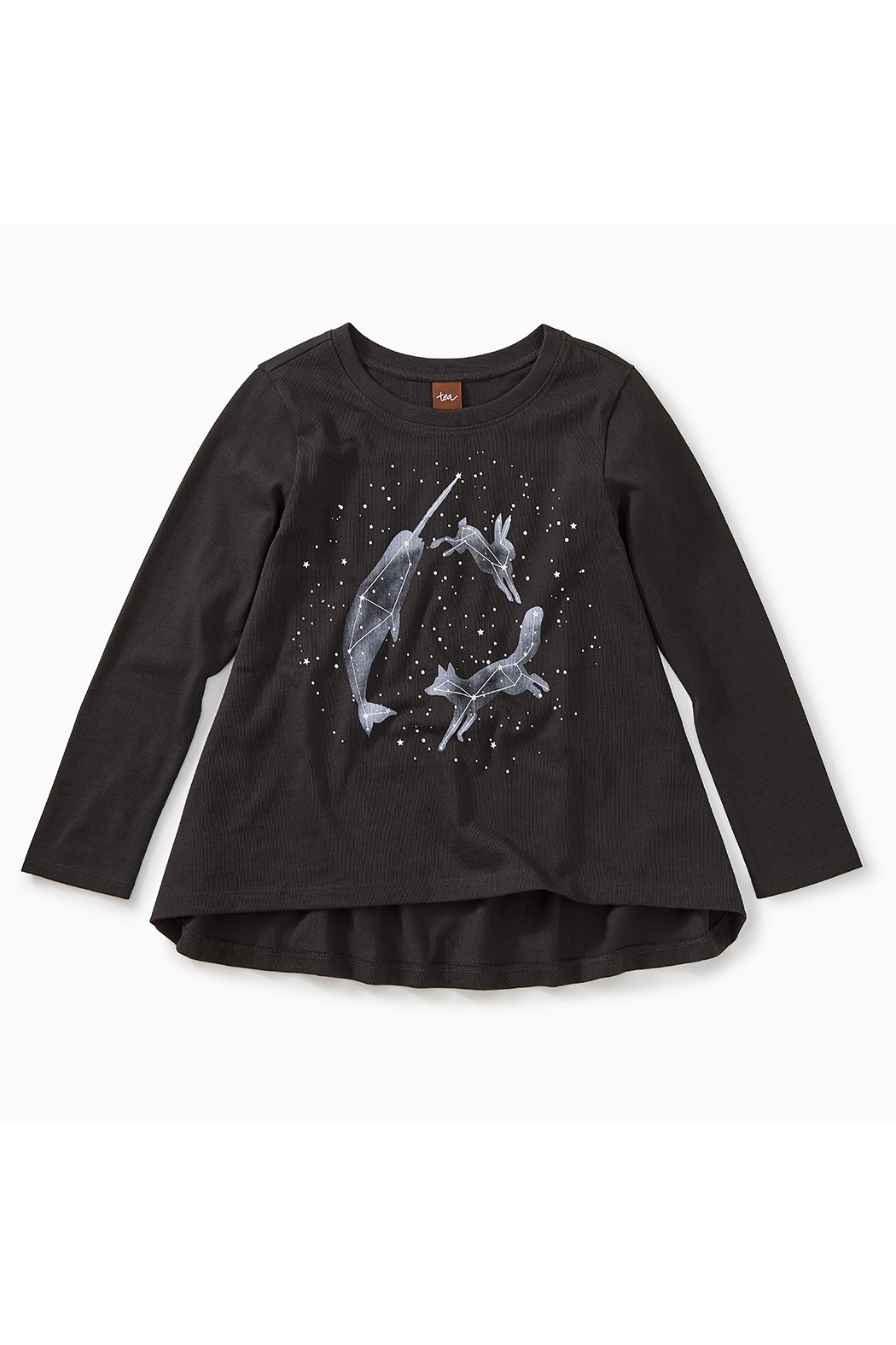 Tea Collection Glow in the Dark Twirl Tee - Front Full Image