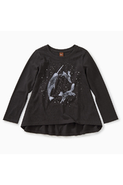 Tea Collection Glow in the Dark Twirl Tee - Front full body