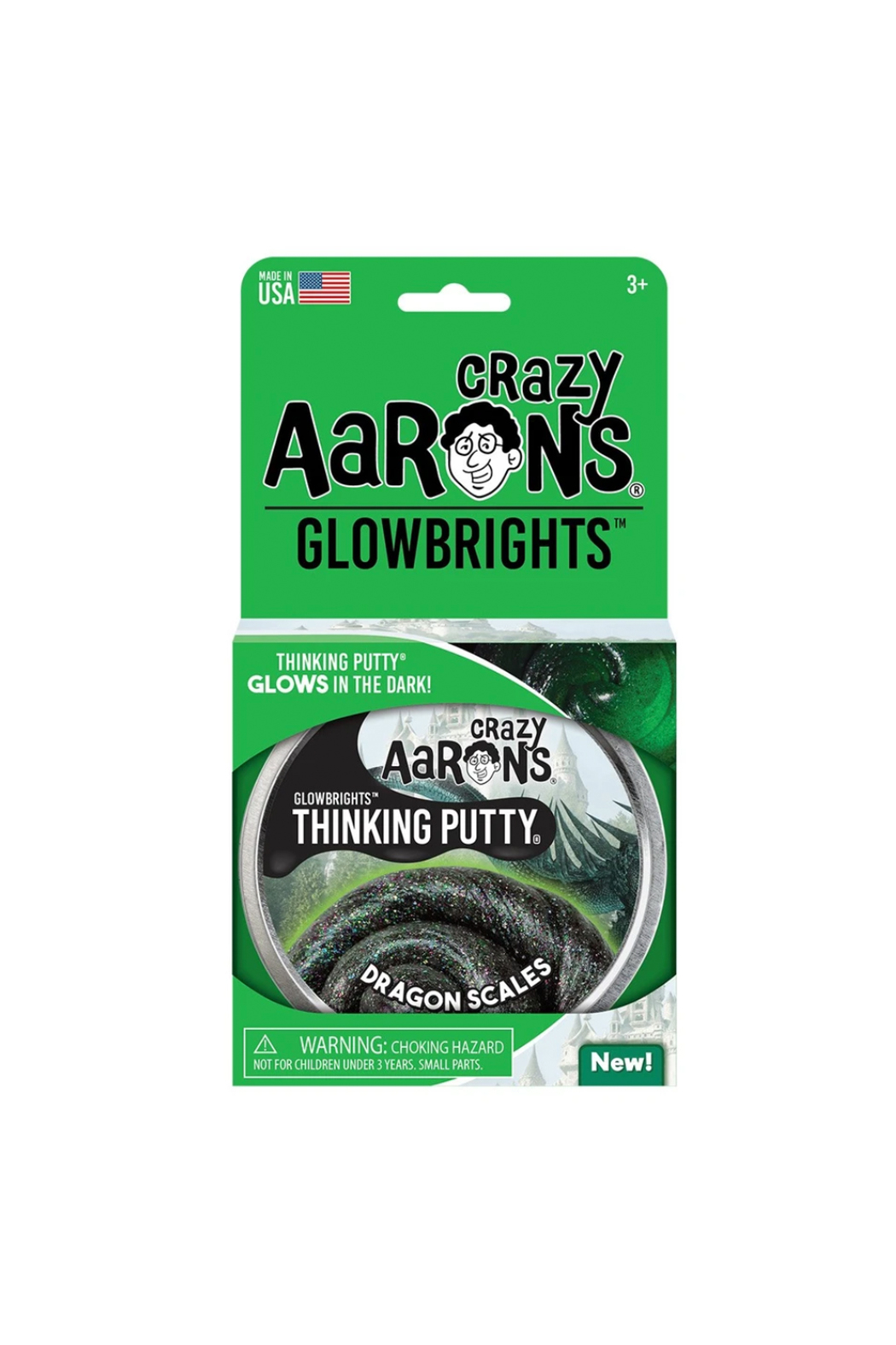 Crazy Aaron's  Glowbrights Putty: Dragon Scales - Main Image