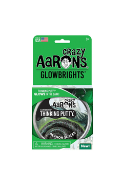 Crazy Aaron's  Glowbrights Putty: Dragon Scales - Product List Image