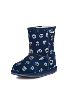Emu Australia Glowing Skull Children Boots - Product List Image