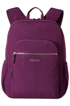 Vera Bradley Gloxinia Purple Iconic Campus Backpack - Product List Image
