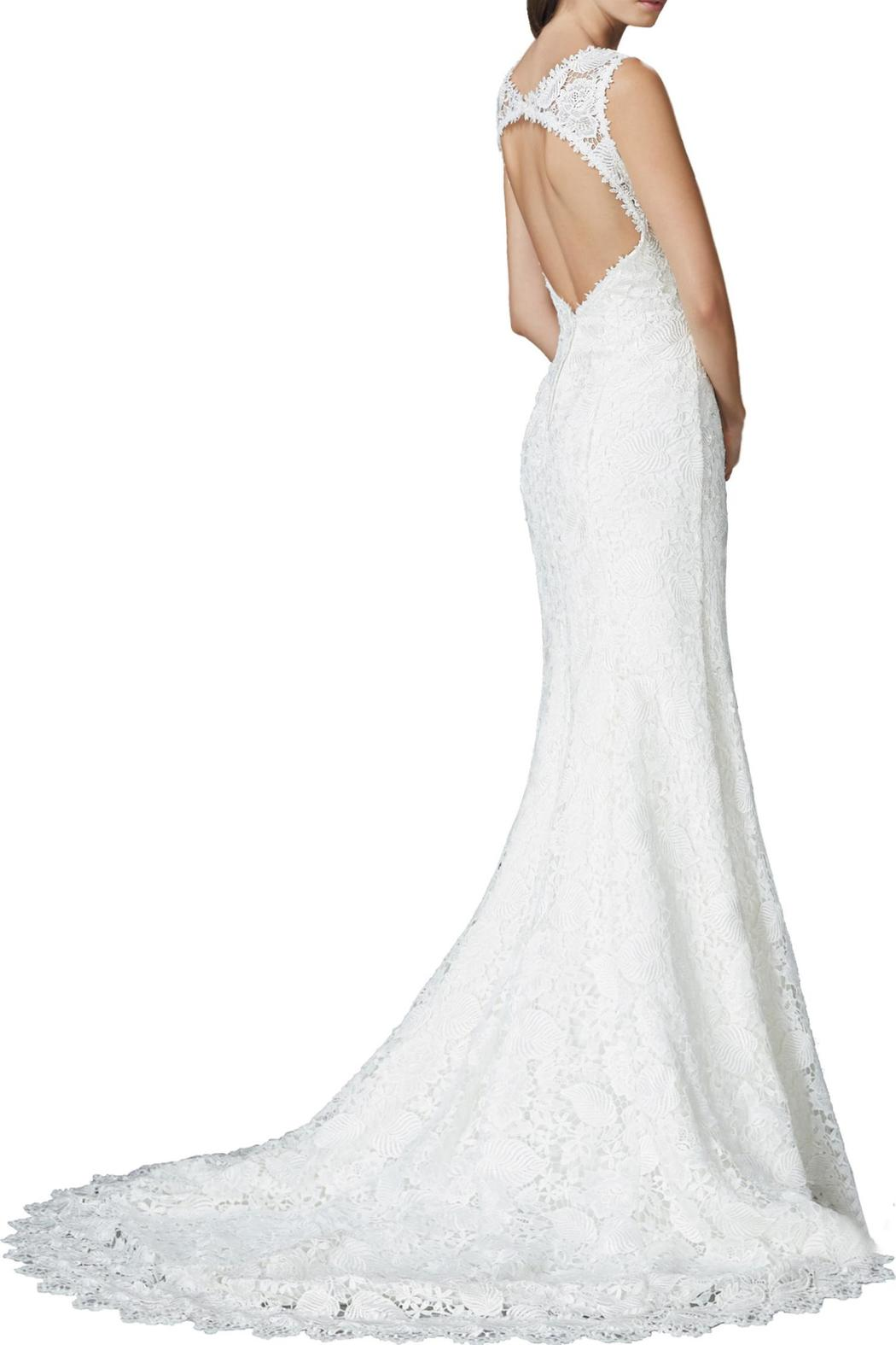 GLS Apparel Lace Wedding Gown - Front Full Image