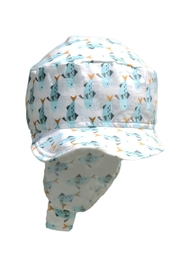 Glup Blue Adjustable Cap - Front full body