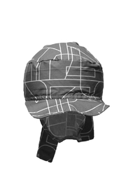 Glup Charcoal Adjustable Cap - Front full body