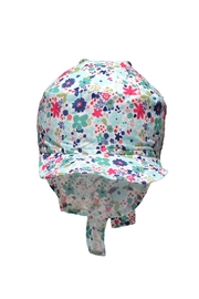 Glup Floral Adjustable Cap - Front full body