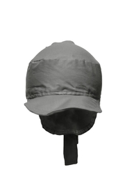 Glup Grey Adjustable Cap - Front full body