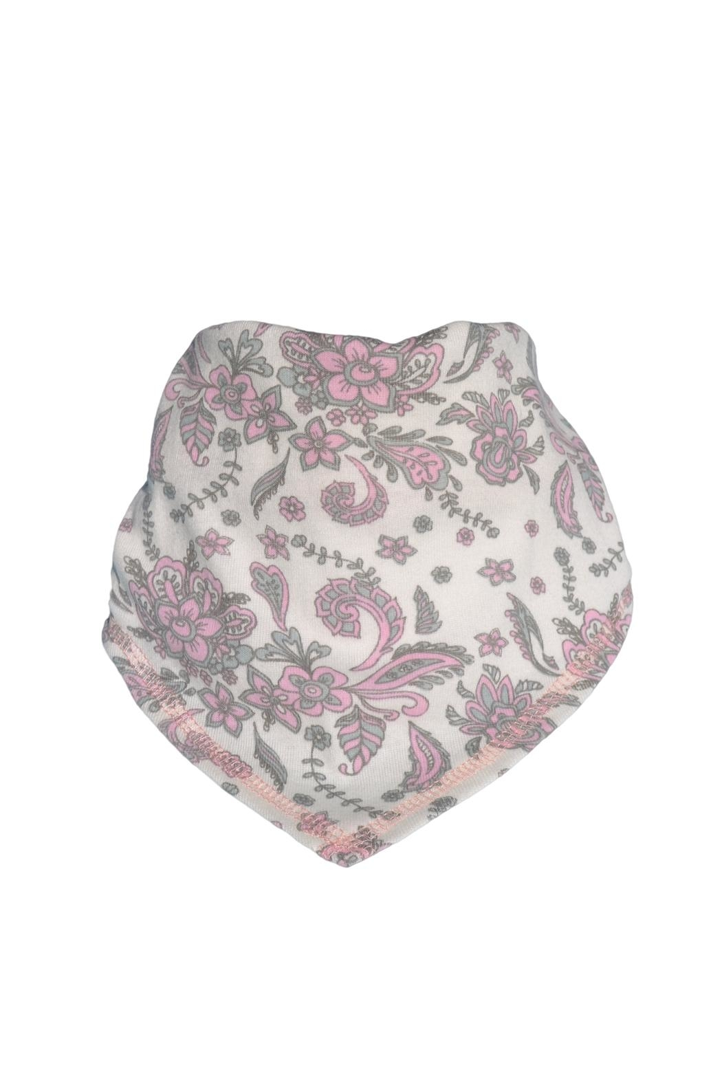 Glup Paisley Drool Bib - Front Cropped Image