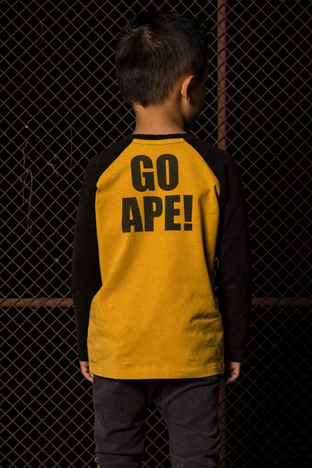 Rock Your Baby Go Ape Top - Back Cropped Image