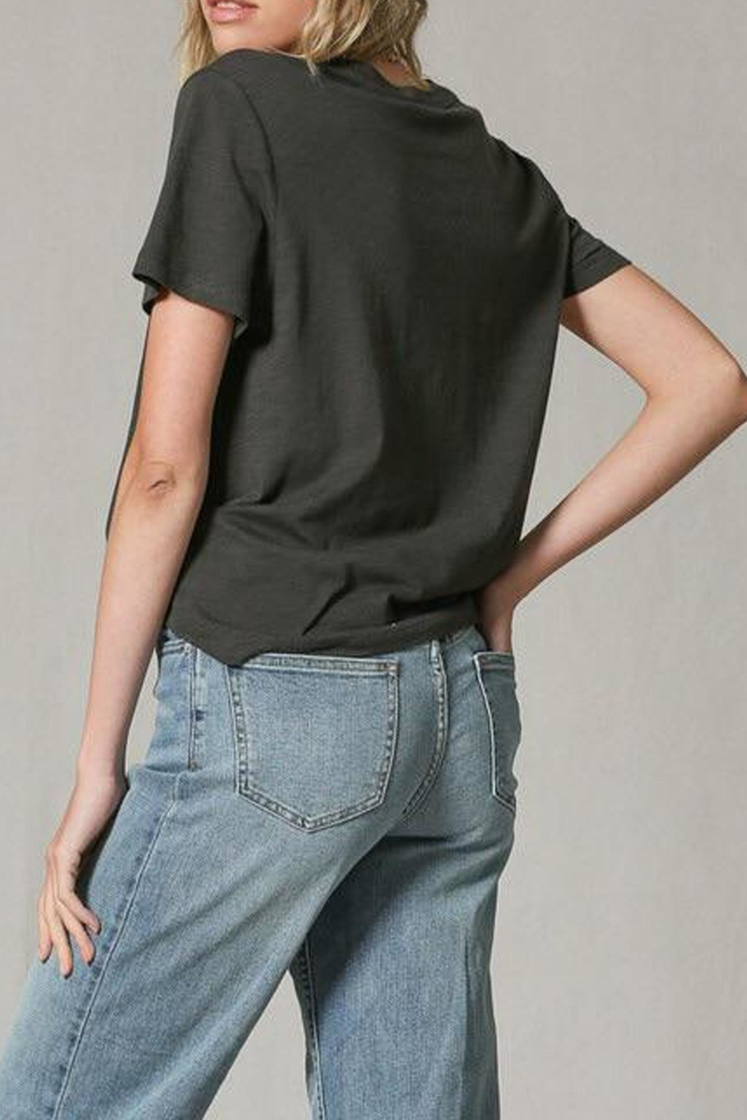 Blank Paige Go-Ask-Your-Dad Tee - Back Cropped Image