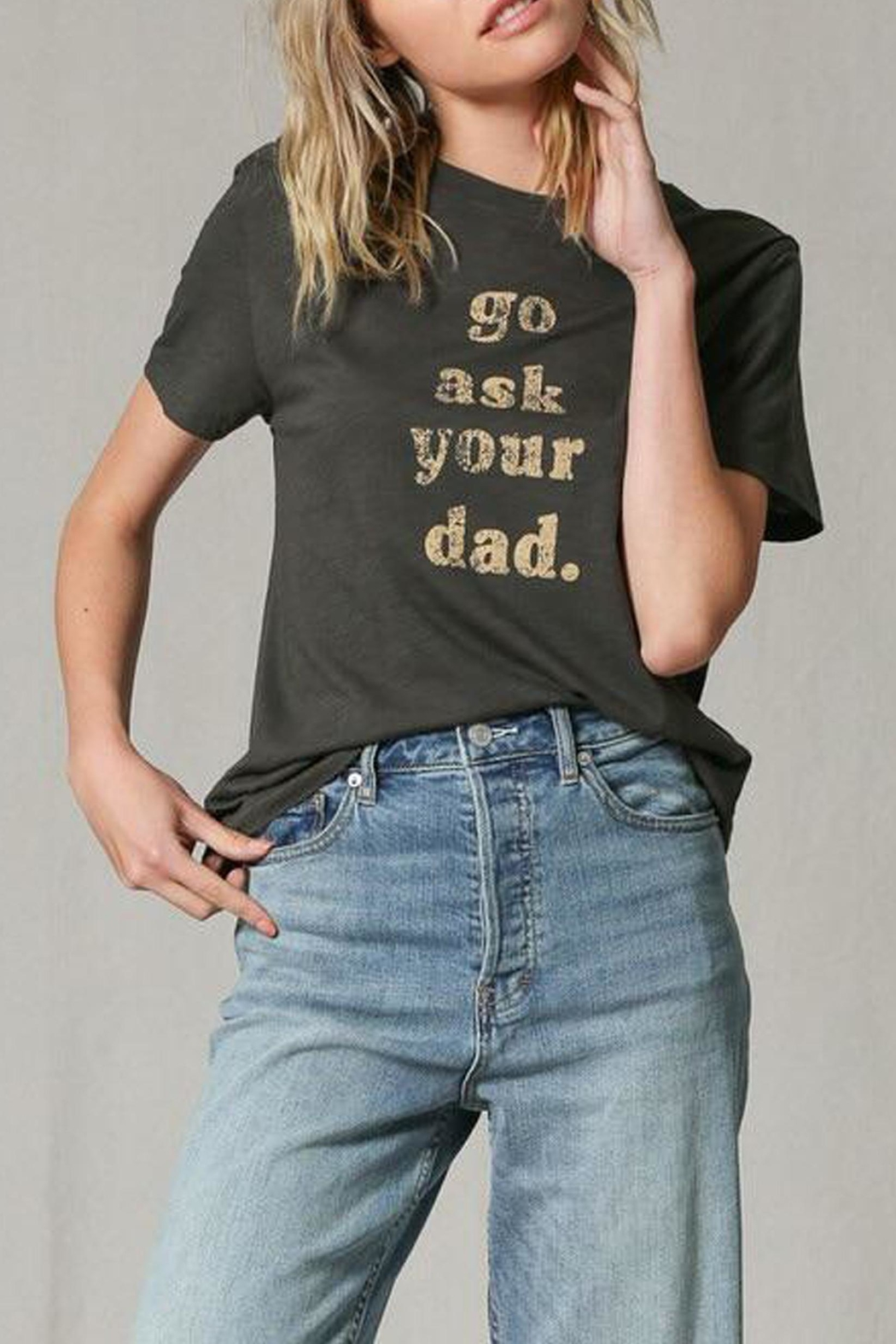 Blank Paige Go-Ask-Your-Dad Tee - Main Image