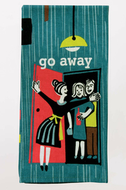 Blue Q Go Away Dish Towel - Product Mini Image