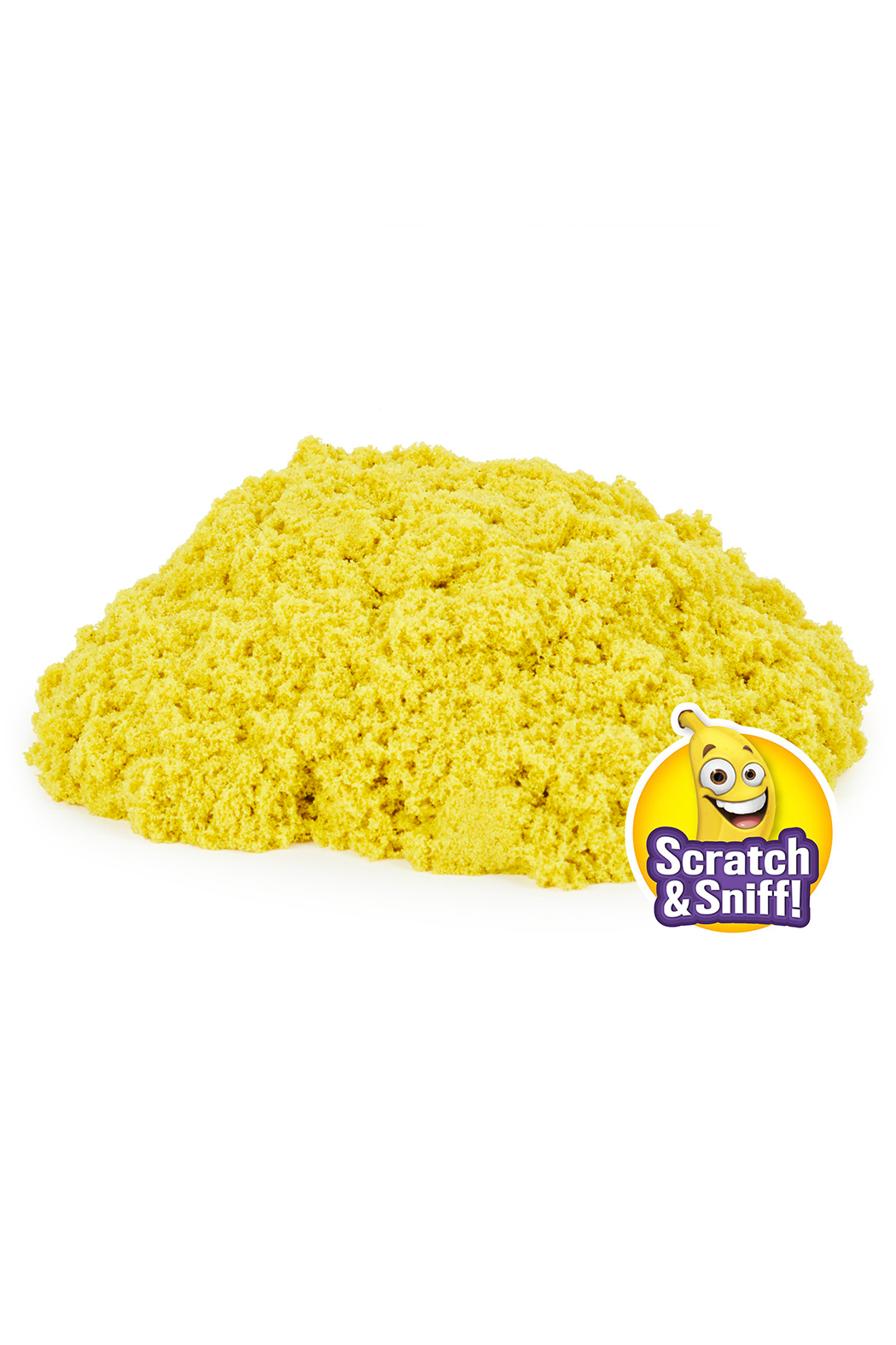 Kinetic Sand Go Bananas Scents 8oz - Side Cropped Image