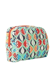 Vera Bradley Go Fish Cosmetic - Front full body