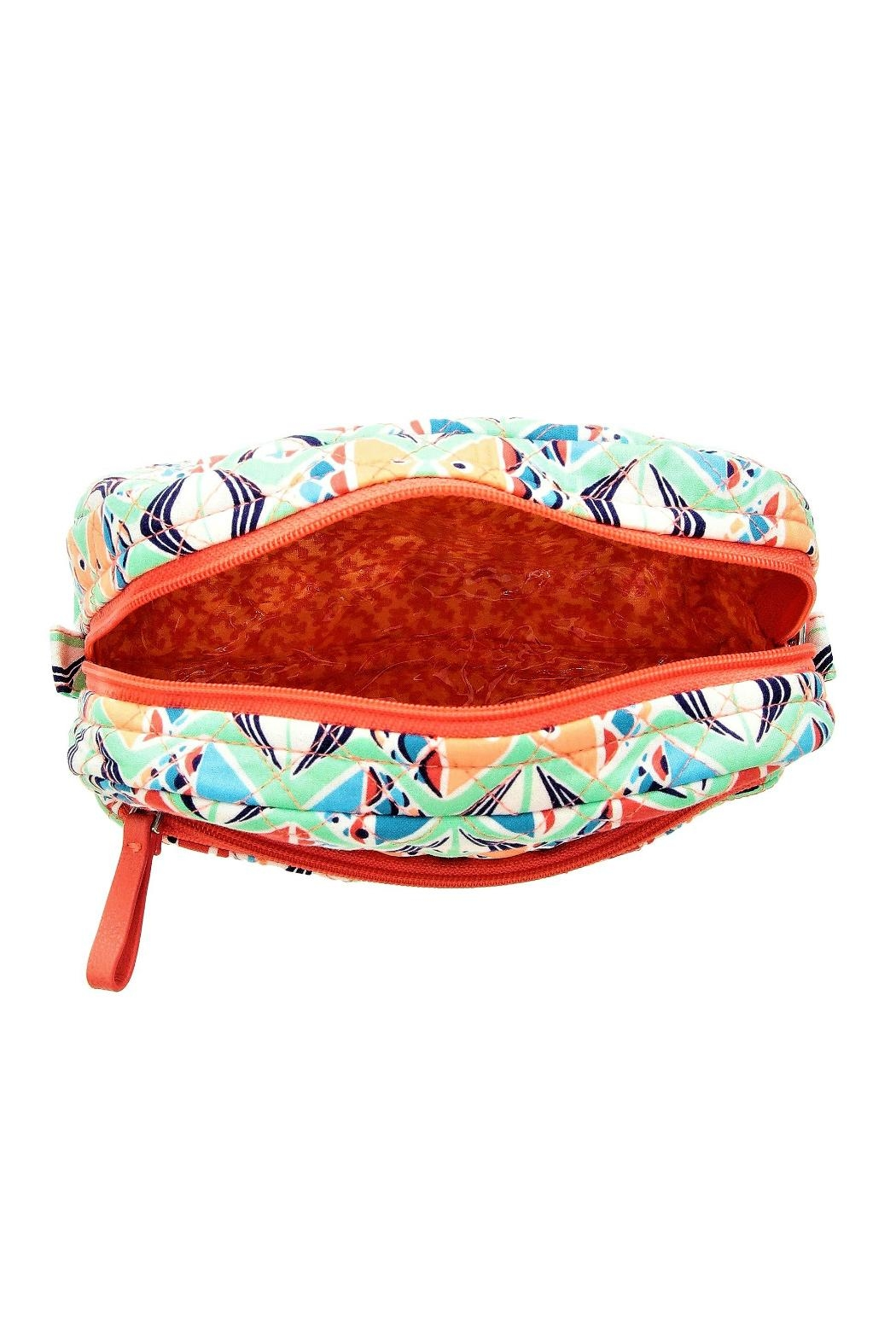 Vera Bradley Go Fish Cosmetic - Side Cropped Image