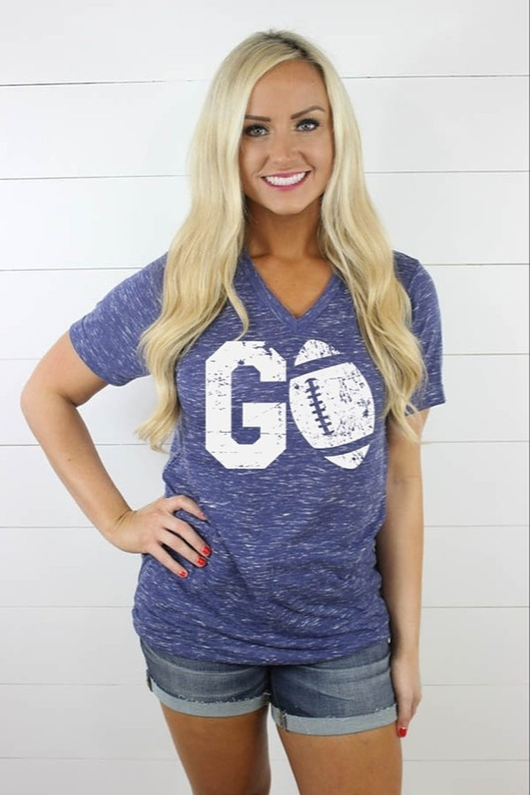 Glittering South Go Football Tee - Main Image