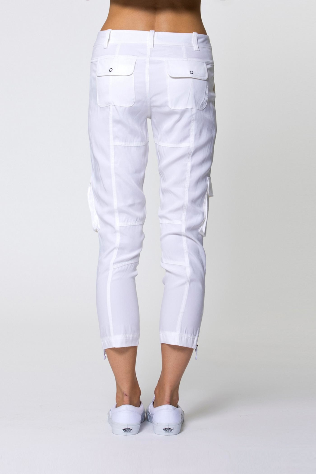 Go Silk Go Utility Pant - Side Cropped Image