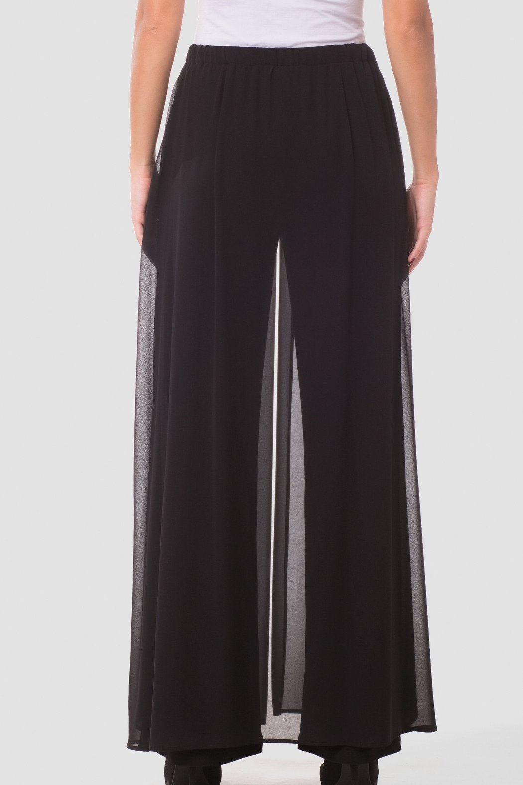 Joseph Ribkoff  Go with the Flow Wide Leg Pants - Side Cropped Image