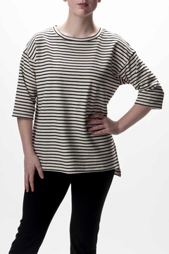 Shoptiques Product: Stripe Print Summer Sweater
