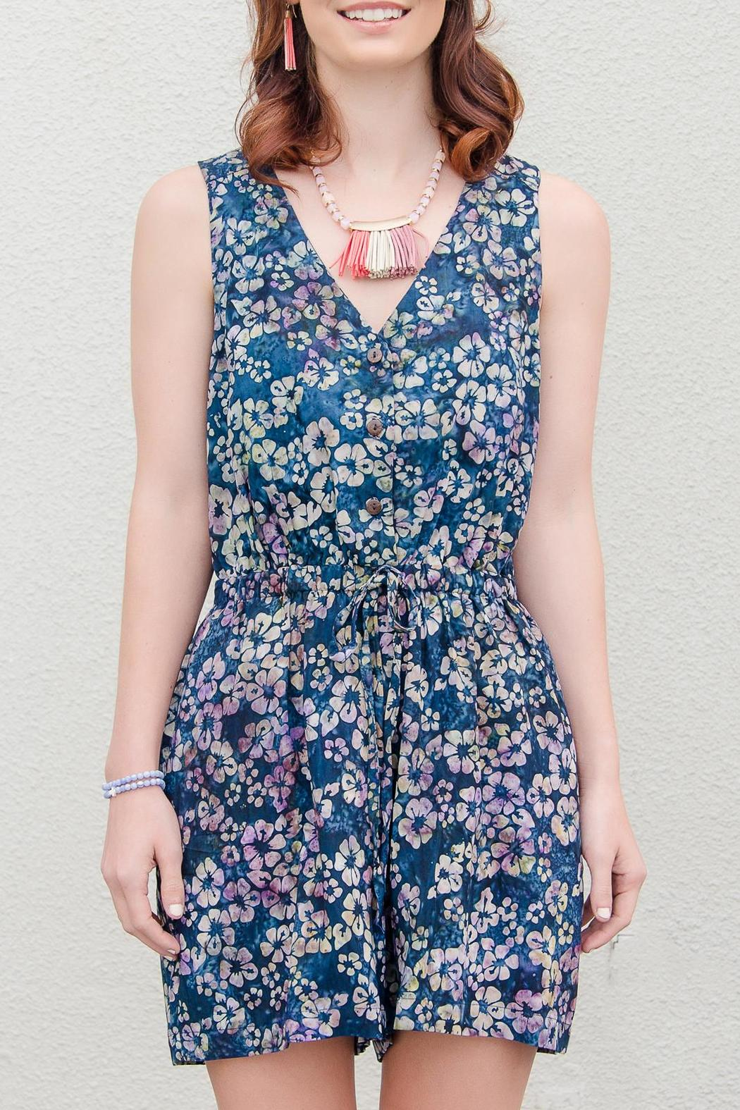 Go fish clothing batik romper from florida by go fish for Go fish clothing
