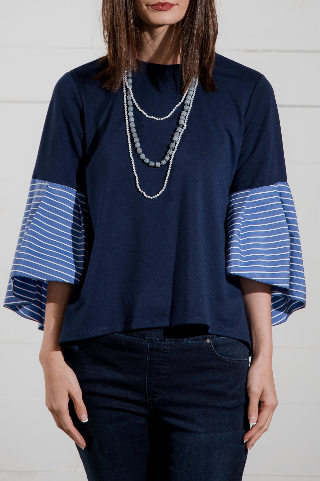 Go Fish Clothing Bell Sleeve Blouse - Main Image