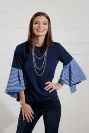 Go Fish Clothing Bell Sleeve Blouse - Front full body