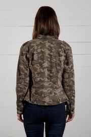 Go Fish Clothing Camo Zip Jacket - Front full body