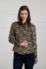 Go Fish Clothing Camo Zip Jacket - Side cropped