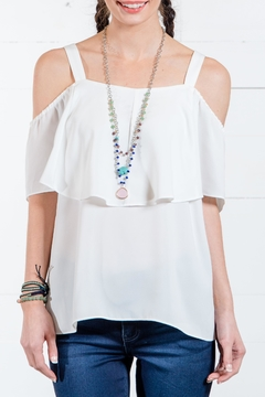 Go Fish Clothing Cold Shoulder Blouse - Product List Image