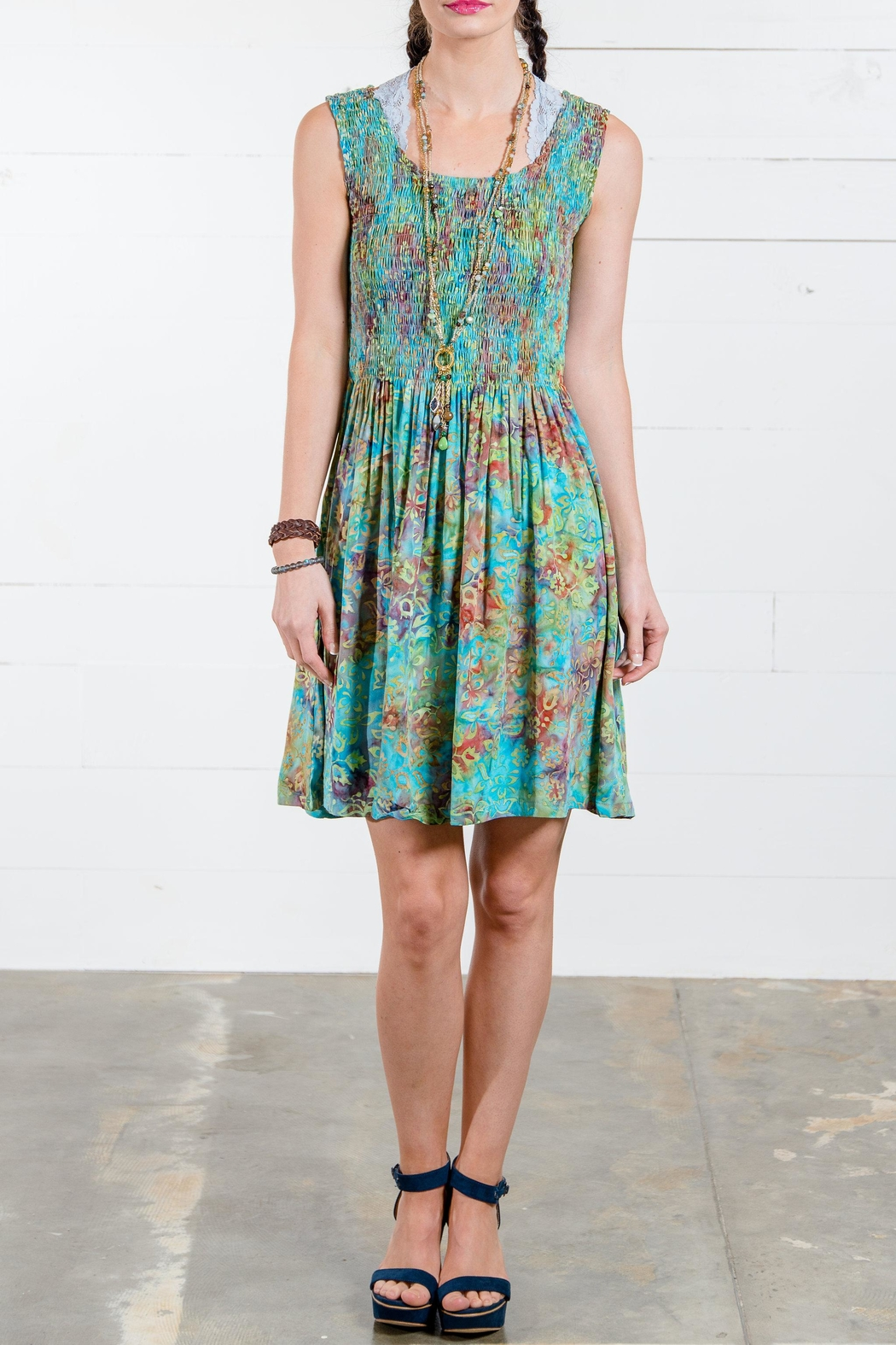 Go fish clothing floral dress from florida by go fish for Go fish clothing