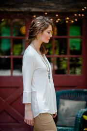 Go Fish Clothing Knit Blouse - Front full body