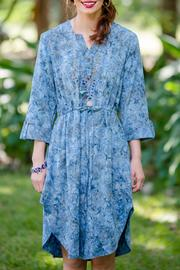 Go Fish Clothing Shirtwaist Batik Dress - Product Mini Image