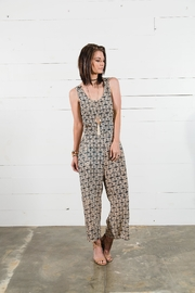 Go Fish Clothing Tie Back Jumpsuit - Side cropped