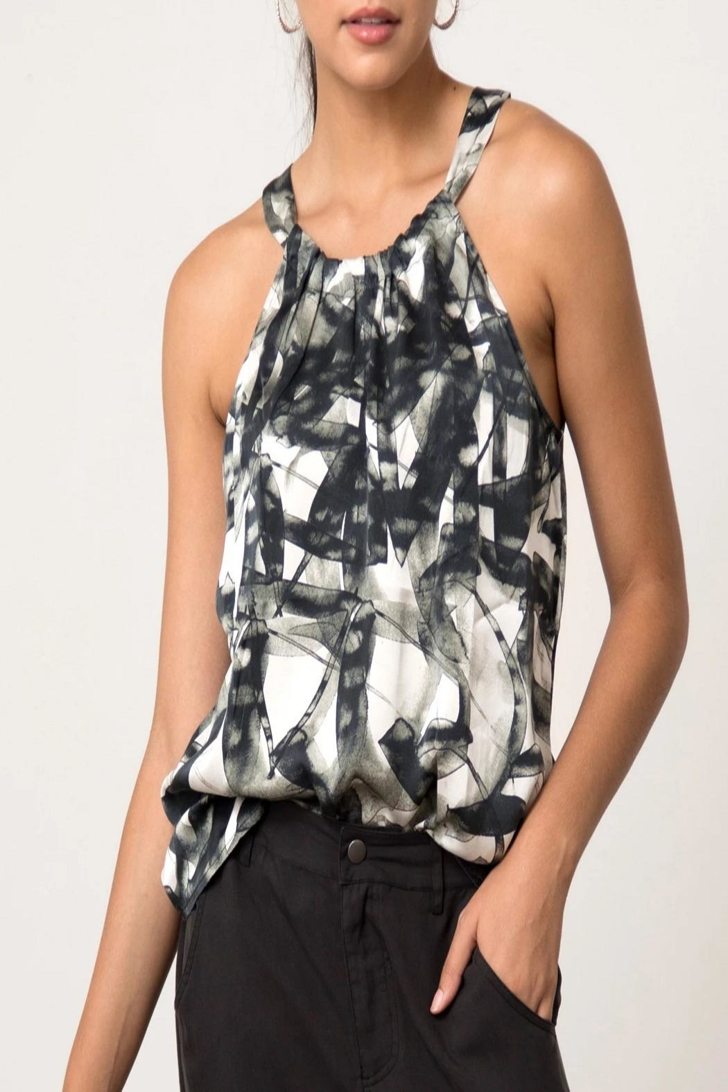 Go Silk Everything Luxe Top - Main Image