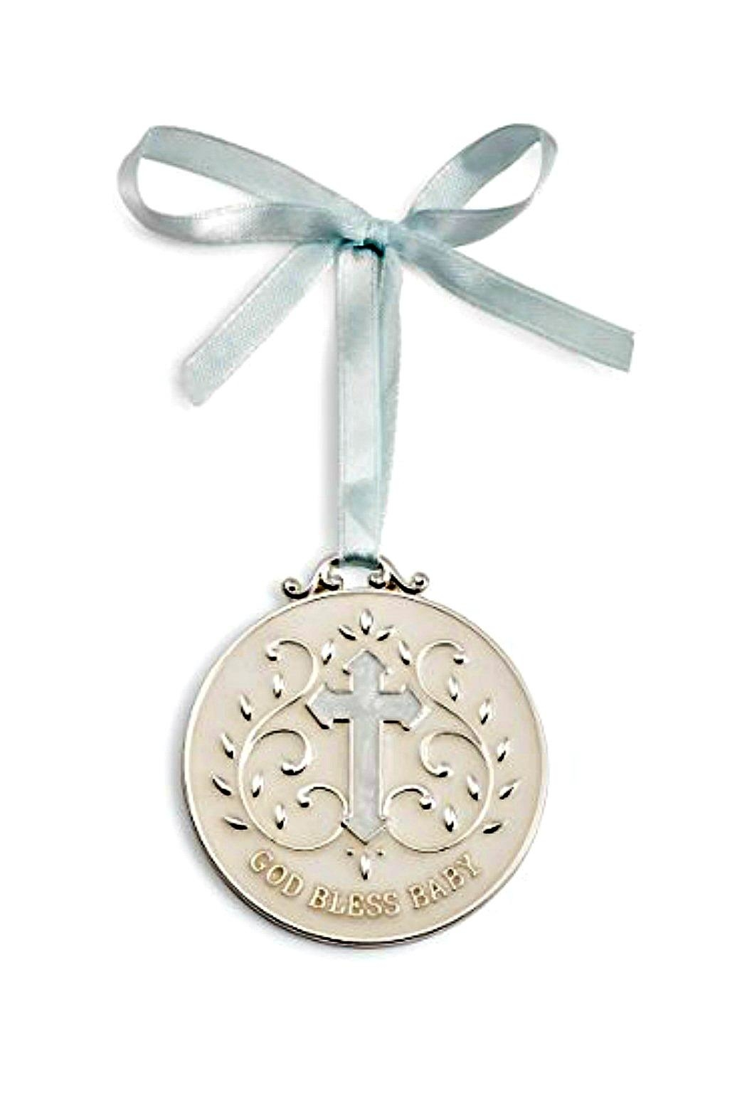DEMDACO God-Bless-Baby-Girl-Keepsake-Medallion - Main Image