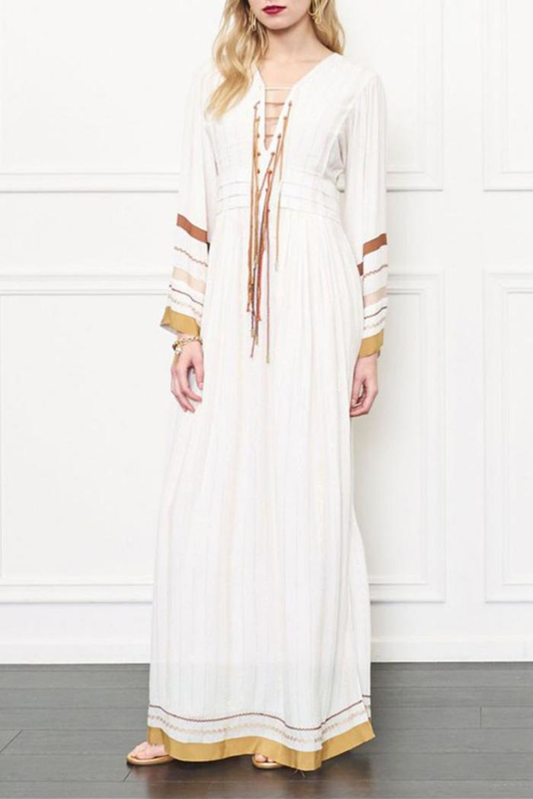 Rachel Zoe Goddess Dress - Front Cropped Image
