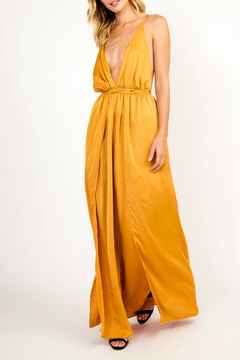 Olivaceous Goddess Maxi Dress - Product List Image