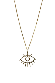 Fabulina Designs Goddess Necklace - Front cropped